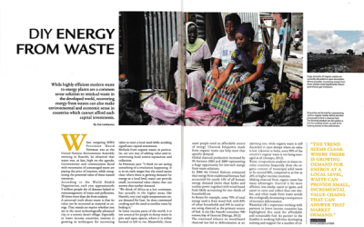 DIY Energy from Waste