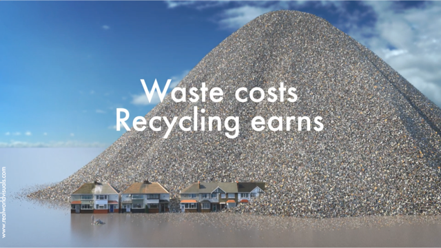 CGI gives recycling campaign the 'wow' factor